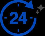 24時間、365日安心・充実のご対応!